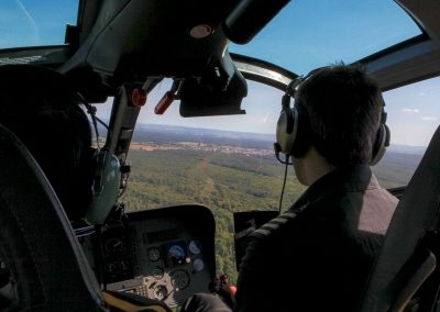 Helikopter innen