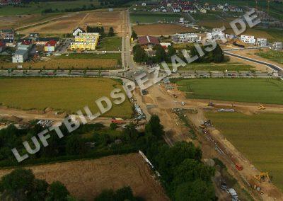 Baustelle der Riedbergallee