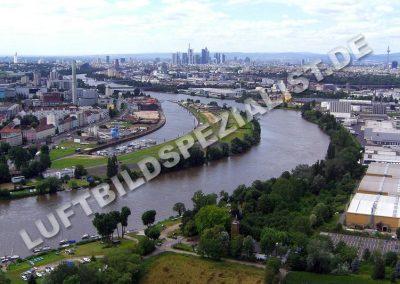 Frankfurt Hafeninsel unbebaut