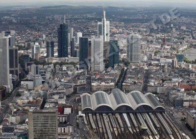 Frankfurt Hauptbahnhof mit Gleisfeld