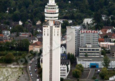 Frankfurt Historischer Henniger-Turm
